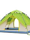 HUILINGYANG 3-4 personer Tält Dubbel Tält Utomhus Automatisk Tält Vattentät Vindtät UV-Resistent Vikbar för Camping Glasfiber oxford