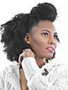 PANSY Clip In 人間の髪の拡張機能 Kinky Curly 人毛 ブラジリアンヘア ブラック