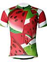 ILPALADINO Maillot de Cyclisme Homme Manches Courtes Velo Maillot Hauts/Tops Sechage rapide Resistant aux ultraviolets Respirable Doux