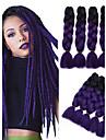 Box Braids Rajouts Colores 100% cheveux kanekalon Tresses Jumbo Cheveux Tressee