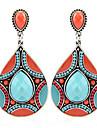 Pentru femei Cercei Picătură La modă Personalizat Bijuterii Statement Africa costum de bijuterii Reșină Aliaj Picătură Bijuterii Pentru