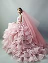 Mariage Robes Pour Poupee Barbie Pour Fille de Jouets DIY