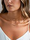 Pentru femei Coliere Choker Coliere Layered Bijuterii Aliaj Design Basic costum de bijuterii Bijuterii Pentru Nuntă Petrecere Zi de