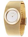 ASJ Women\'s Luxury Watches Wrist Watch Gold Watch Japanese Copper Gold Casual Watch Analog Ladies Luxury Fashion Elegant - Golden One Year Battery Life / SSUO SR626SW