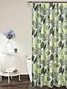 Duschdraperi Moderna Polyester Löv Maskingjord