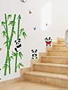 Animale Desene Animate Botanic Perete Postituri Autocolante perete plane Autocolante de Perete Decorative, Hârtie Pagina de decorare de