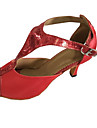 Personalizabili Damă Latin Sandale Înăuntru Toc Personalizat Rosu