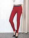 Pentru femei Casual Talie Medie, Înaltă Elasticitate Skinny Pantaloni Mată Vară