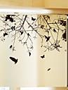 Trä/löv Nutida Fönsterklistermärke, PVC/Vinyl Material fönster~~POS=TRUNC Matsalsrum Sovrum Kontor Barnrum Vardagsrum Badrum Butik / Cafe