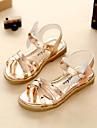 Fete Sandale Confortabili Pantofi Fata cu Flori Tălpi cu Lumini Imitație de Piele Vară Toamnă Rochie PlimbareConfortabili Pantofi Fata cu