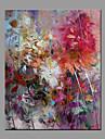 Pictat manual Abstract Modern/Contemporan Un Panou Canava Hang-pictate pictură în ulei For Pagina de decorare