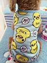 Chat Chien Tee-shirt Gilet Vetements pour Chien Decontracte / Quotidien Animal Bleu Rose Costume Pour les animaux domestiques