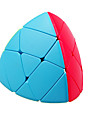 Rubiks kub QI YI Pyramorphix Mastermorphix Mjuk hastighetskub Magiska kuber Pusselkub Lena klistermärken Present Unisex