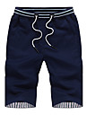 Bărbați Mărime Plus Size Bumbac Relaxat / Pantaloni Scurți Pantaloni Mată