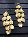 Pentru femei Cercei Picătură Bijuterii Design Unic Stil Atârnat Aliaj Leaf Shape Bijuterii PentruNuntă Petrecere Ocazie specială