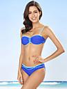 Dame Bustieră,Bikini Monocolor Bloc Culoare