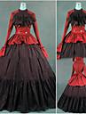 Gotic / Βικτωριανής Εποχής / Medieval Costume Pentru femei Rochii / Costume petrecere / Mascaradă Rosu Vintage Cosplay Bumbac / Other