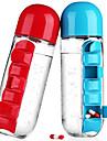 Plastic Pahare Zilnice Pahare Novelty Cești Sticle de Apă Căni de Cafea Termos Boluri & Sticle de Apă agitator Sticlă Rotativă