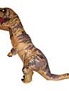 Dinosaurie Cosplay Kostymer / Dräkter Maskerad Halloween Rekvisita Film-cosplay Brun Röd Grön Blå Jul Halloween Karnival Oktoberfest Nyår