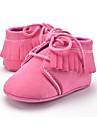 Barn Flickor Skor Mikrofiber Sommar Höst Första gåsko Loafers & Slip-Ons Tofs Snörning för Casual Fest / afton Formellt Rosa Khaki grön