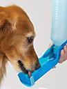 Pisici Câine Boluri & Sticle de Apă Animale de Companie  Castroane & Hrănirea Impermeabil Portabil Rosu Albastru Roz