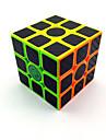 cubul lui Rubik Fibra de carbon 3*3*3 Cub Viteză lină Cuburi Magice puzzle cub Mat Competiție Cadou Unisex