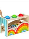 Xilofone Hammering / Pounding Toy Brinquedo Para Bebe Diversao Educacao Fun & Whimsical Unisexo Para Meninos Para Meninas Brinquedos Dom