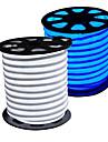 HKV 5m Fâșii De Becuri LEd Flexibile 300 LED-uri 2835 SMD Alb Cald / Alb / Albastru Ce poate fi Tăiat / Rezistent la apă 220 V / 110 V / IP65