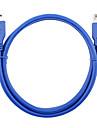 USB 3.0 Förlängningssladd, USB 3.0 to USB 3.0 Förlängningssladd Hane - hona 0,6 (2ft)
