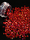 1 Nail Glitter Glitterpulver Paljetter Elegant & Lyxig Glitter och glans Nail Art Design