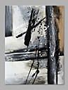 Pictat manual Abstract Vertical,Abstract Un Panou Canava Hang-pictate pictură în ulei For Pagina de decorare