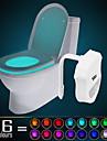 HKV 1 st Toalettljus Infraröd sensor Färgskiftande