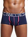Men's Sexy Sporturi Imprimeu Imprimeu Pantaloni scurți & Briefs Chiloți Ultra Sexy Boxeri