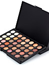 1PCS 40 Color Palette (2 Color Set to Choose) Ögonskuggspalett Torr Matt Skimmrig Ögonskugga palett PuderVardagsmakeup Halloweenmakeup