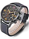 Bărbați Ceas Sport Ceas Elegant Ceas La Modă Ceas Casual Ceas de Mână Unic Creative ceas Chineză Quartz Calendar Rezistent la Apă Piele