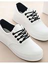 Damă Pantofi Plasă de Aerisire PU Primăvară Vară Confortabili Adidași Pentru Casual Alb Negru Albastru Deschis