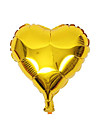 10pcs - 10 inchi de aur in forma de inima baloane cadouri beter ® diy partid decor