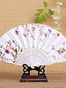 """Mătase Ventilatoare și umbrele de soare-# Piece / Set Ventilatoare de Mână Temă Florală 16 1/2""""x9""""x 3/4""""(42cmx23cmx1cm)"""