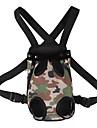 Chat Chien Sac de transport Sac a dos avant Animaux de Compagnie Transporteur Ajustable / Reglable Portable Mode Couleur camouflage