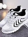 Erkek Ayakkabı Tül Bahar / Yaz Atletik Ayakkabılar Koşu / Tenis Atletik / Günlük / Dış mekan için Beyaz / Koyu Gri / Açık Gri