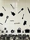 Cuvinte & Citate Modă Forme Perete Postituri Autocolante perete plane Autocolante de Perete Decorative 3D Material Pagina de decorare de