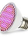 4.5W 2500-3000lm E27 Växande glödlampa 106 LED-pärlor SMD 2835 Blå Röd 85-265V