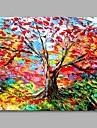 Hang-pictate pictură în ulei Pictat manual - Peisaj Artistic Modern / Contemporan pânză