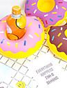 uppblåsbara donut kopp hållare flytande kustfartyg dryck dryck hållare pool party leveranser