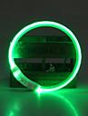 Câine Gulere Lumini LED / Ajustabile / Retractabil / Reîncărcabil Mată TPU Verde / Albastru / Roz