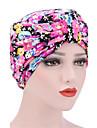Pentru femei Iarnă Primăvara/toamnă Pălărie Floare Bumbac,Floppy Floral Imprimeu Negru Roșu-aprins Roz Îmbujorat Bleumarin Curcubeu