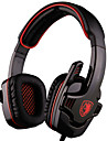 gaming hörlurar stereo 7,1 surround Pro USB gaming headset med mikrofon pannband hörlurar