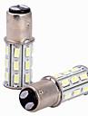 2pcs 1157 Automatique Ampoules electriques 6W W SMD 5630 500lm lm LED Clignotants