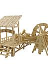 3D-pussel Pussel Trämodell Leksaker Känd byggnad Hus Arkitektur 3D Trä Naturligt trä Unisex Pojkar Bitar