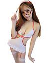 Pentru femei Costume Pijamale Celofibră-Sexy Solid